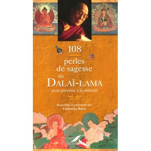 108 perles de sagesse du Dalai-Lama  Catherine Barry