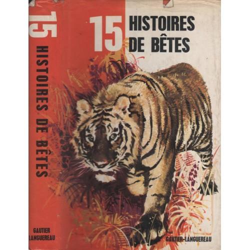 15 histoires de bêtes