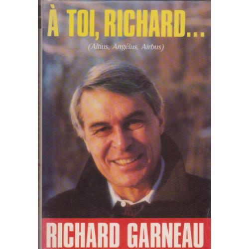 A toi Richard  Alain Stanké