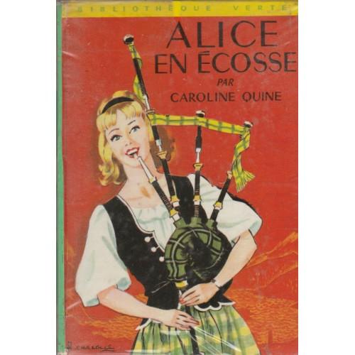 Alice en Ecosse Caroline Quine