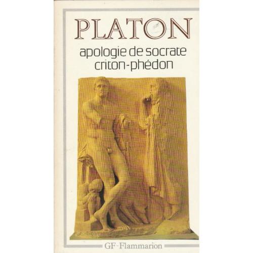 Apologie de socrate  Criton Phédon