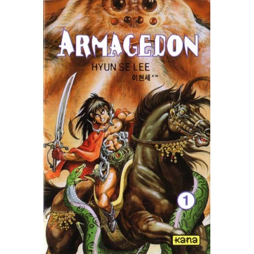 Armagedon  Hyun Selee  Bandes dessinées