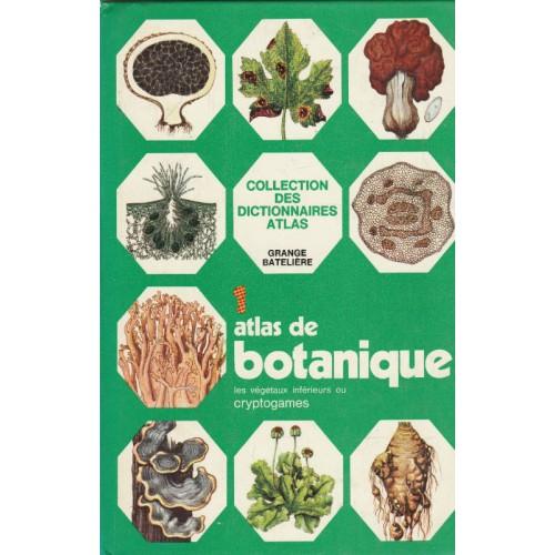 Atlas de botanique les végétaux inférieures ou cryptogomes  Uberto Tosco