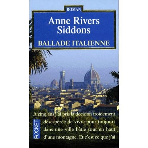 Ballade Italienne Anne Rivers Siddons