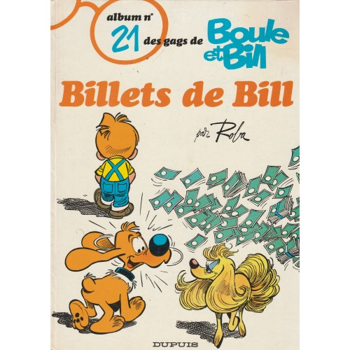 Boule et Bill  Billets de Bill no 21
