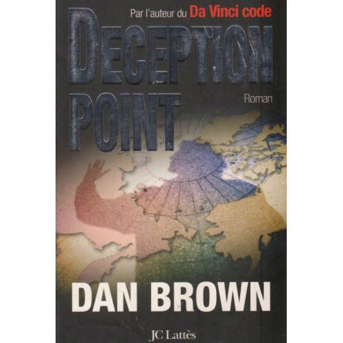 Deception Point grand format Dan Brown