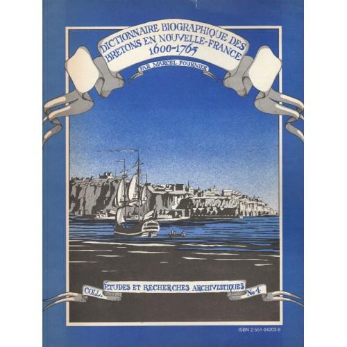 Dictionnaire des Bretons de la Nouvelle-France