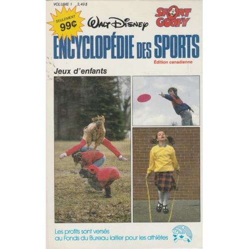 Encyclopédie des sport  walt Disney