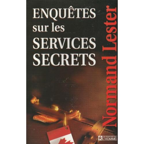 Enquête sur les services secrets Normand Lester   R G