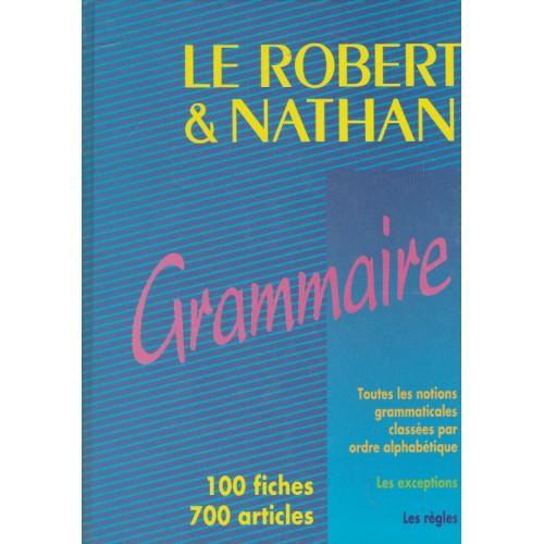 Grammaire, Le robert et Nathan