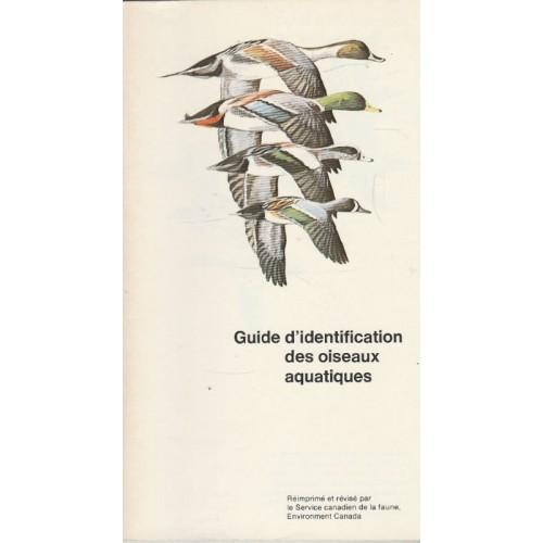 Guide d'identification des oiseaux aquatiques