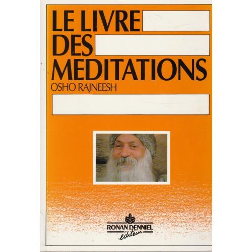 Le livre des méditations  Osho Rajneesh