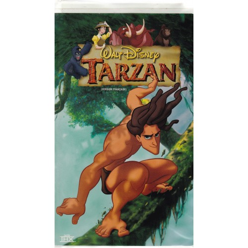 Tarzan, Walt Disney film pour enfant vhs