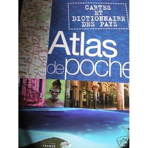 Atlas de poche Cartes et dictionnaire des pays