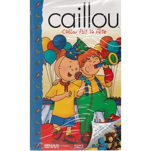 caillou fait la fête  film enfant VHS