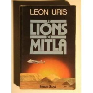 Les lions de Mitla Leon Uris