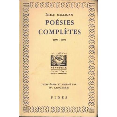Poésies complètes  Emile Nelligan